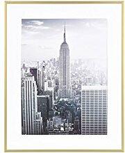 Henzo Manhattan Bilderrahmen, Metall, Gold, 20 x
