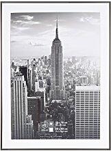 Henzo Manhattan Bilderrahmen, Metall, grau, 60 x