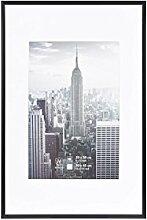 Henzo Manhattan Bilderrahmen, Metall, schwarz, 20