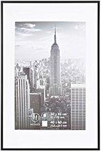 Henzo Manhattan Bilderrahmen, Metall, schwarz, 40