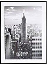 Henzo Manhattan Bilderrahmen, Metall, schwarz, 60