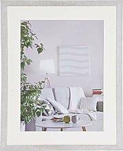 Henzo Modern 40x50 Frame Weiss Bilderrahmen, MDF