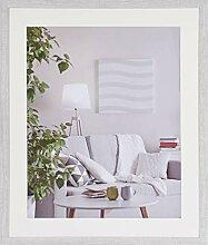 Henzo Modern 50x60 Frame Weiss Bilderrahmen, MDF,