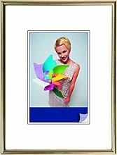 Henzo Napoli Bilderrahmen, Plastik, Gold, 50 x 60