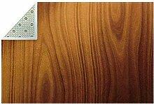 HEOEH Holz-Fußmatte, 180 x 119 cm, für Innen-