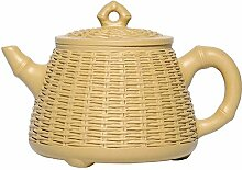 HePing Wu Bambus Segmente Teekanne mit großer
