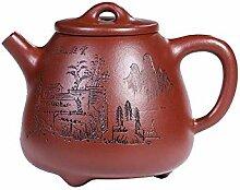 HePing Wu Big Red hohen Stein Schaufel Teekanne