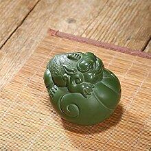 HePing Wu Deli Keramik lila Ton-Skulptur Tee
