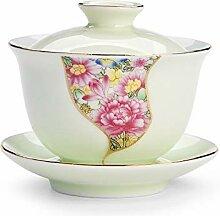 HePing Wu Emaille bedeckt Tasse Tee Kung Fu