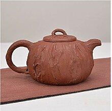 HePing Wu Erz Teekanne Tee (Color : Brown)