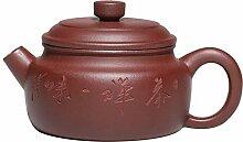 HePing Wu Lila Ton Teekanne mit kleiner Kapazität