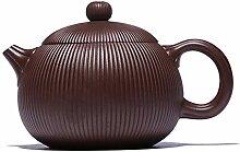 HePing Wu Neue Erz lila Ton Teekanne handgemachte