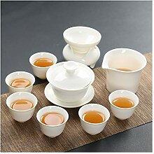 HePing Wu Porzellan-Tee-Set Kung Fu Tee (Color :
