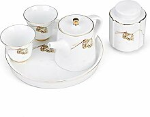 HePing Wu Reise Topf zwei Tassen Tee-Sets aus