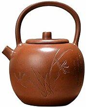 HePing Wu Teekanne Gantry (Color : Brown)