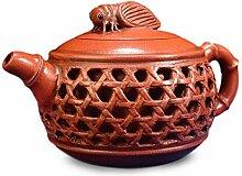 HePing Wu Teekanne Hohl Zikade (Color : Brown)