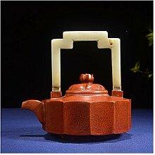 HePing Wu Teekanne Plus-Gantry (Color : Brown)