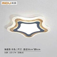 Heqor Einfache Schlafzimmer Deckenlampe Runde