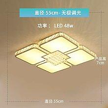 Heqor Wohnzimmer Lampe rechteckige Lampe LED