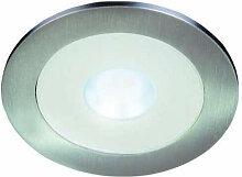 Hera - LED Einbaustrahler AR78 7,5W Edelstahloptik