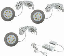 Hera - LED Einbaustrahler R55 3er Set 3X 3W 15