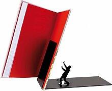 Herabfallende Literatur Buchstütze - Falling Buchständer