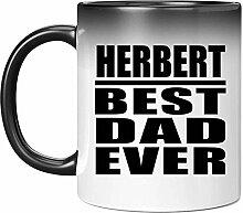 Herbert Best Dad Ever - 11 Oz Color Changing Mug
