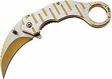 Herbertz 583612 Einhandmesser Karambit Stahl Jagd-