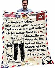 Herbests Personalisierte Deutsche Nachricht Decke