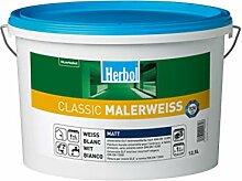 Herbol Classic Malerweiss Wandfarbe Innenfarbe
