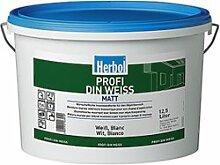 Herbol Farbe Profi Din Weiss 12.5 Liter Farbton: