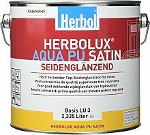 Herbol Herbolux Aqua PU Satin Basis 2,325 ltr.      2,500 L