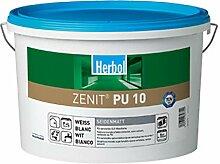 Herbol Zenit PU 10 Wandfarbe seidenmatt weiß 5