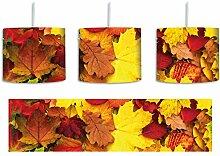 Herbstblätter inkl. Lampenfassung E27, Lampe mit