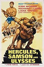 Hercules Samson And Ulysses Poster 01 Metal Sign A4 12x8 Aluminium