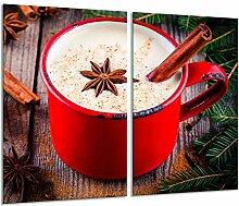 Herdabdeckplatte 2 teilig Ceranfeld Weihnachten