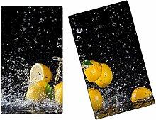 Herdabdeckplatte Schneidebrett Spritzschutz aus