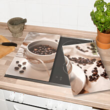 Herdabdeckplatten - Herdabdeckplatte Kaffee Zauber