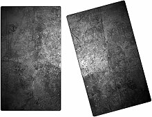 Herdabdeckplatten, Schneidebrett aus Glas,Beton