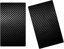 Herdabdeckplatten, Schneidebrett aus Glas, Carbon