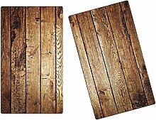 Herdabdeckplatten, Schneidebrett aus Glas,Holz