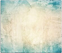 Herdabdeckplatten, Schneidebrett aus Glas,Steinoptik Türkis HA100601029 Variante 1x Scheibe (1 Panels)