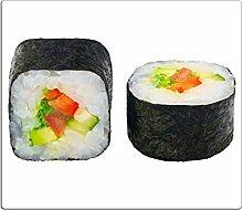 Herdabdeckplatten, Schneidebrett aus Glas, Sushi