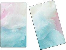 Herdabdeckplatten, Schneidebrett aus Glas,