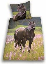 Herding 442485050 Bettwäsche Pferde Motiv,