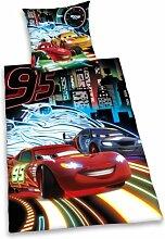 Herding 442978050412 Bettwäsche Cars Neon,