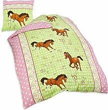 Herding 445749050 Bettwäsche Pferde Motiv,