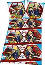 Herding 4470307050 Bettwäsche Feuerwehrmann Sam,