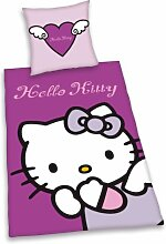 Herding 447114050 Bettwäsche Hello Kitty,