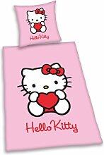 Herding 447128050 Bettwäsche Hello Kitty,